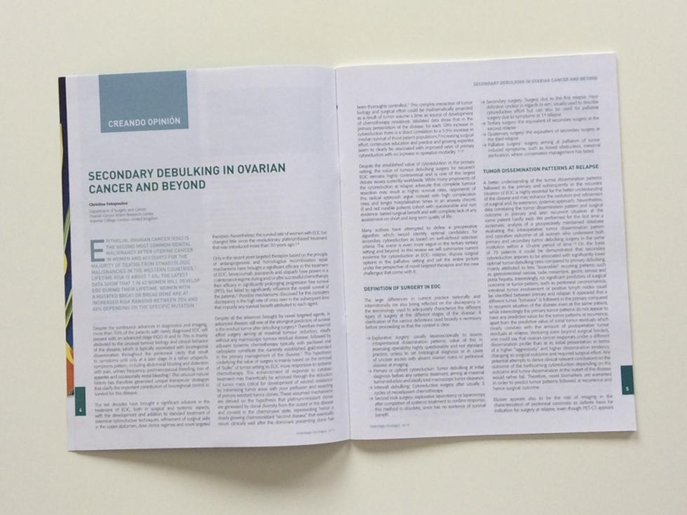 Revista de Ginecología Oncológica