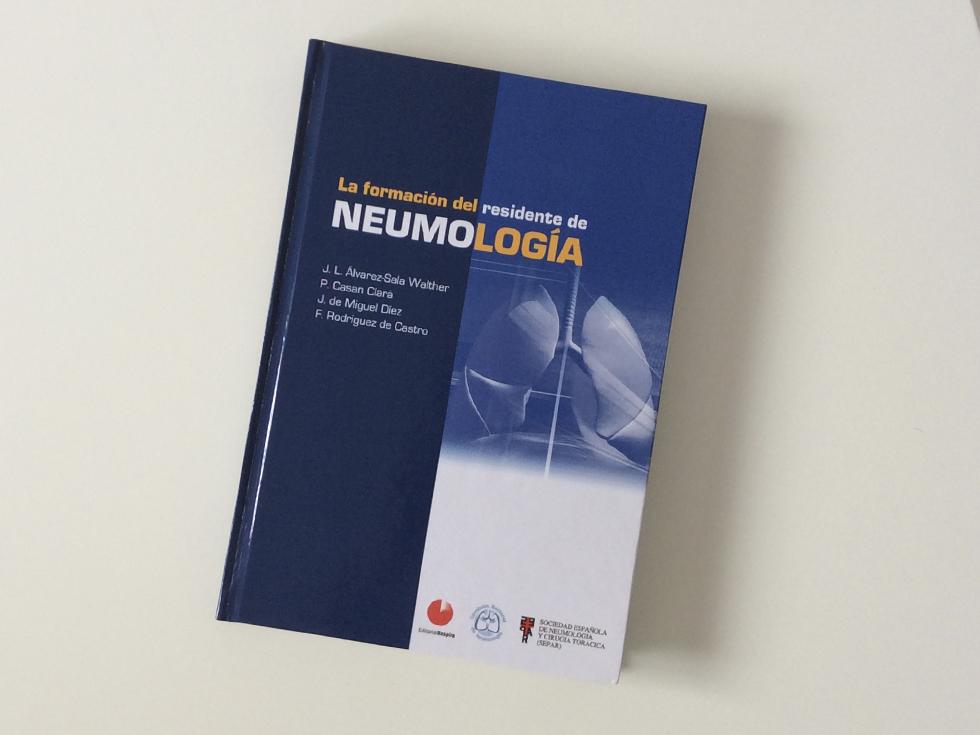 Libro La formación del residente de Neumología