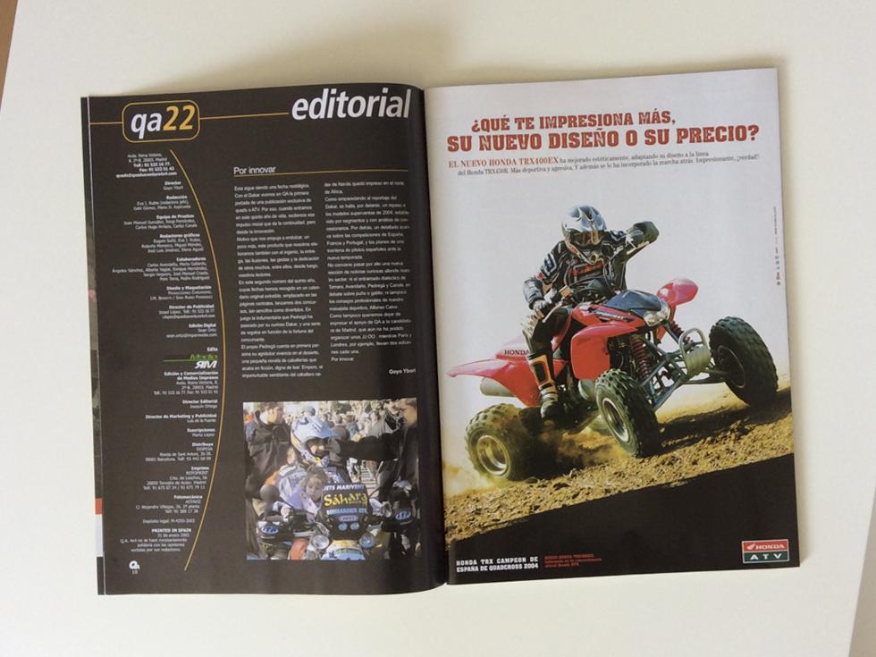 Revista Quads Aventura 4x4